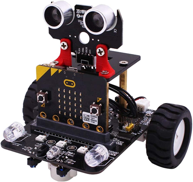 Perfk Roboter Auto 2WD Kit Ultraschall Sensor Programmierung intelligente Roboter Car Kit für Arduino DIY B07JD7CY6Q | Genial Und Praktisch