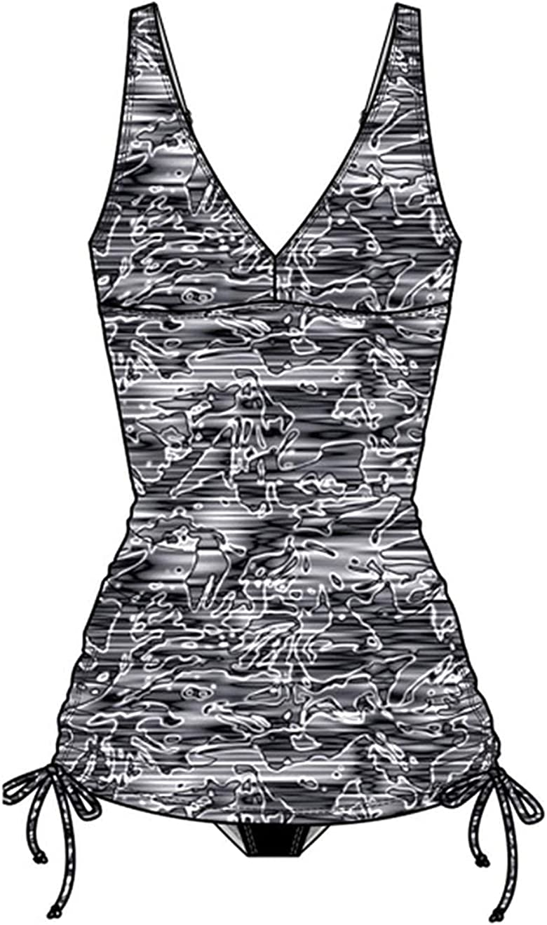 free TYR All stores are sold Lucid V Neck Sheath Black 12