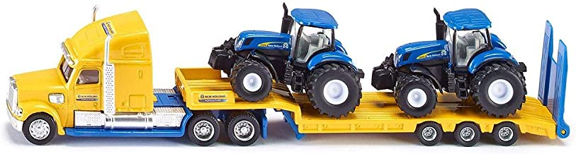 Truck + 2 New Holland Tractor
