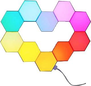 Yescom 10 Pack WiFi Smart LED Light Kit DIY Lable Lamp Voice Control 16 Million Colors..