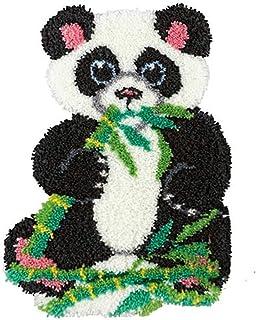 XUJINGJIE Kit De Tapis À Crochets Kit De Fabrication De Tapis Artisanat De Coussin De Broderie De Broderie pour La Maison ...