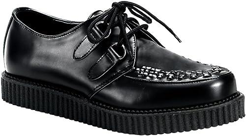 Creeper-602 noir leather - (EU (EU 41 = US 8) - Demonia
