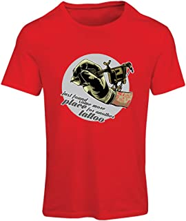 lepni.me Women's T-Shirt Aerograph-Tattoo Ink Machine, Every Inch is Tattooed, Cool Tips, Fan Clothing, Humor Gift Ideas