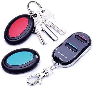 キーファインダー 探し物発見器 Key Finder Item Tracker ワイヤレスキーRFロケーターアイテム紛失防止タグアラームリマインダートラッカーリモートファインダ 電話ペットキーホルダー財布荷物追跡トラッカー 忘れ物 探知機 (2の受信機)