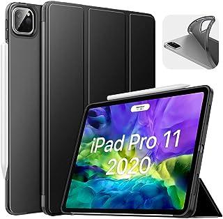 """MoKo Funda Compatible con iPad Pro 11"""" 2020/2018, Ultra Delgado Función de Soporte Trasera Transparente para iPad Pro 11 I..."""