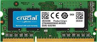 Crucial 4GB Single DDR3 1600 MT/s (PC3-12800) CL11 SODIMM 204-Pin 1.35V/1.5V Notebook Memory Module CT51264BF160B 4GB CT51...
