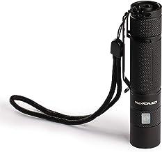 Zaklamp binnen 1400mA met Micro USB-oplaadpoort Zaklamp voor Mannen Oplaadbare Zaklamp Torch Kinderen (Emitting Color : 65...