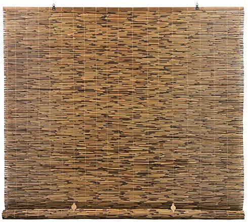 Radiance Cord Free Roll up Reed Shade Natural 48 x 72 Cocoa product image