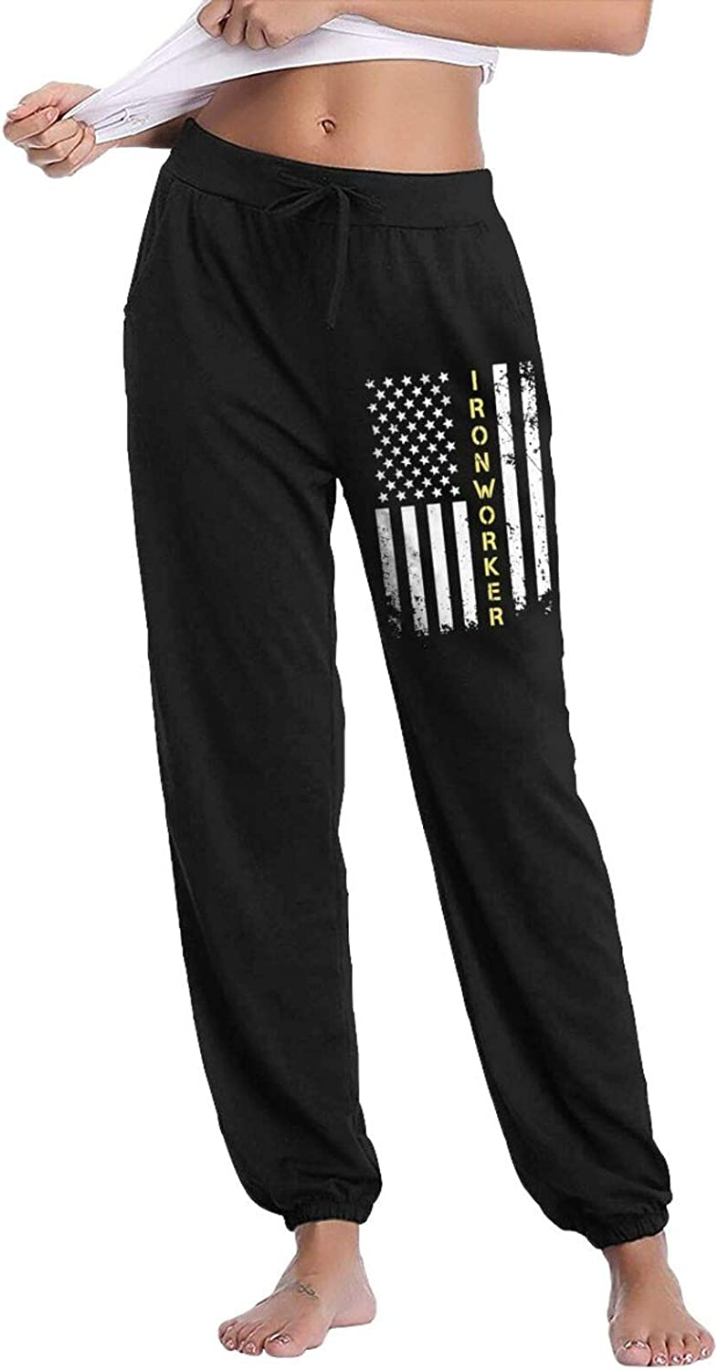 Popular product Rajapamiey Ironworker American Flag Limited price Women's Active Long S Casual