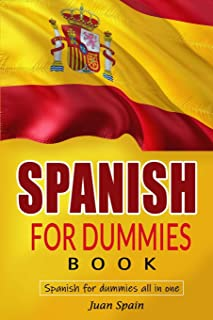 Spanish for Dummies Book: spanish for dummies all in one