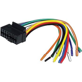 Amazon Com 16 Pin Auto Stereo Wiring Harness Plug For Jvc Kd