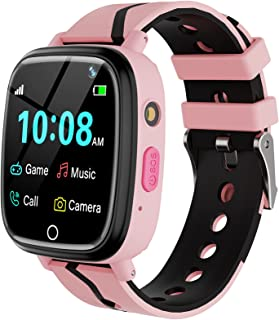 Kids Smart Watch for Boys Girls - Kids Smartwatch with Call 7 Games Music Player Camera SOS Alarm Clock Calculator 12/24 h...