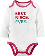 Carters Baby Clothing Outfit Girls Best Niece Ever Collectible Bodysuit White 18M
