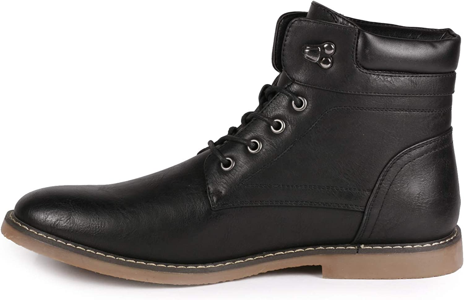 Metrocharm MC129 Men's Lace up Casual Fashion Ankle Oxford Boot