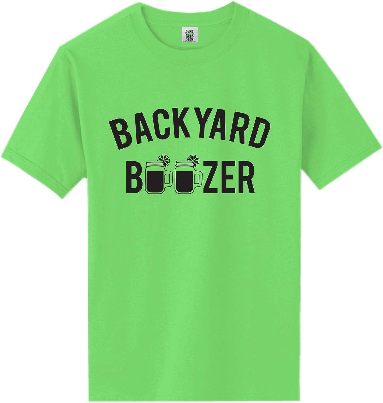 zerogravitee Backyard Boozer Short Sleeve Neon Tee