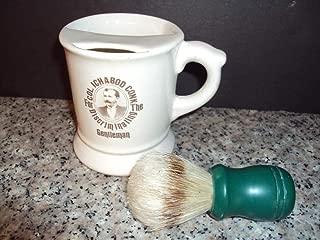 Col Ichabod Conk,For Discriminating Gentlman Shaving Mug & New Brush