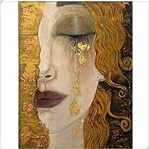 xieshnag Plaza Llena De Diamantes 5D DIY Pintura Diamante Gustav Klimt Bordado De Punto De Cruz Rhinestone Mosaico 24 * 34cm
