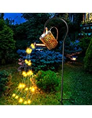 LED Waterkoker Licht String Tuin Lichten Fairy Lamp, Creatieve Sterrenhemel Watering Kan Waterdicht, Sterrenhemel Douche Tuin Art Lights Gebruikt voor Outdoor Tuin Gazon Decoratie (Pot+Beugel+Licht String)