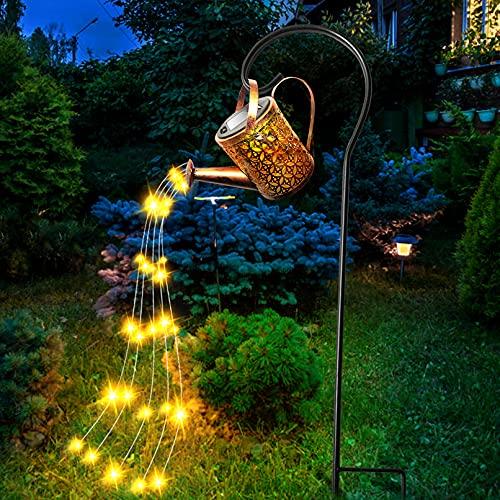 Cadena De Luz De Jardín LED Luz De Hadas Cielo Estrellado Creativo Riego Luz De Jardín Impermeable Para Decoración De Césped Al Aire Libre