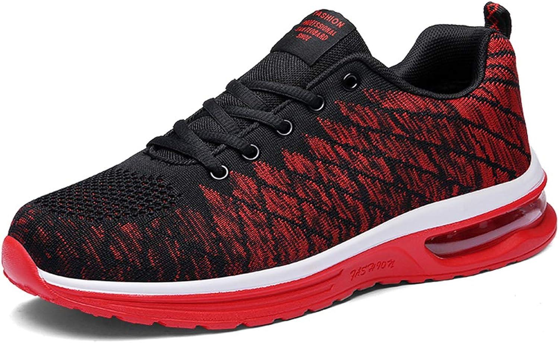 YUHUAWYH Mens Sneakers Sport Running shoes Women Air Cushion Lightweight Walking Tennis Trainers