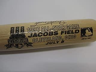 Sandy Alomar Indians Autographed Signed Memorabilia 1997 All Star Limited Edition Baseball Bat JSA COA