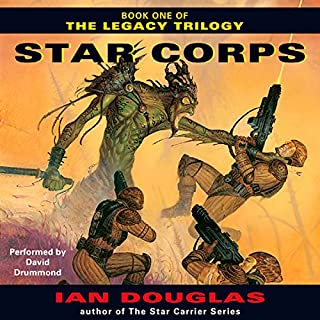 Star Corps audiobook cover art