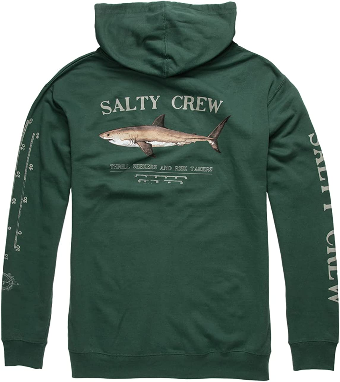 SALTY Indianapolis Mall CREW Rapid rise Bruce Green Hoodie