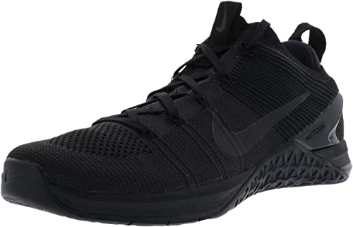 Nike Metcon Dsx Flyknit 2, Hausschuhe de Deporte para Hombre, schwarz schwarz Hyper Crimson 004, 45 EU