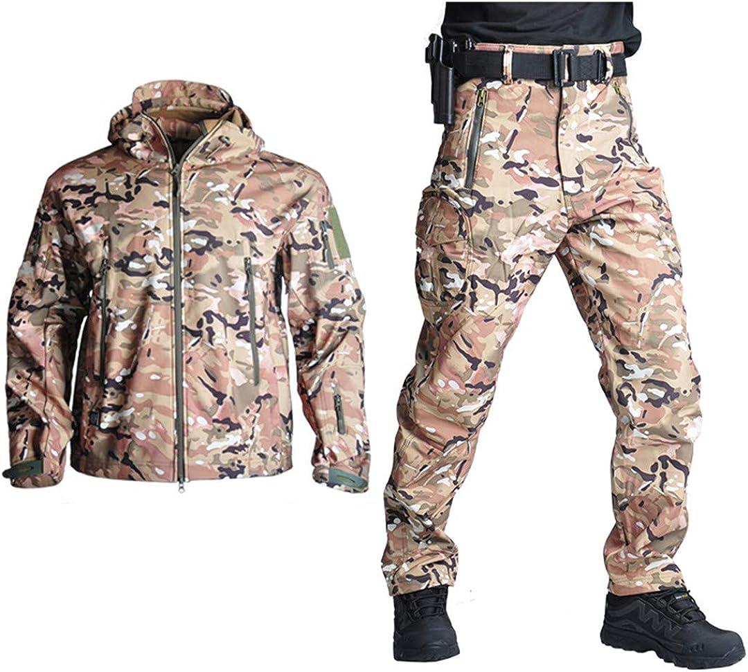 Pantalones Camping Senderismo Caza Deporte Chaqueta Pantalones Impermeables De Camuflaje Polar Softshell Militar Tactico Deportes Y Aire Libre Caza Treinamentosm7 Com Br