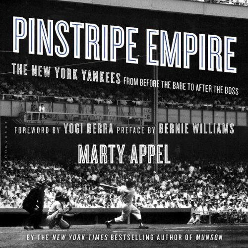 Pinstripe Empire audiobook cover art