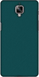 OnePlus 3T Case, Premium Handcrafted Designer Hard Shell Snap On Case Shockproof Printed Back Cover for OnePlus 3 - Shaded Spruce Texture