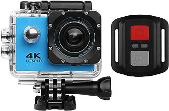 Cámara de acción HD 720P/1080P/4K Cámara deportiva - HD WIFI Cámara subacuática buceo Videocámara de acción impermeable co...