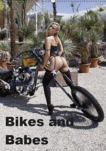 Bikes and Babes (Wandkalender 2019 DIN A2 hoch): Motorräder und Mädchen (Monatskalender, 14 Seiten )