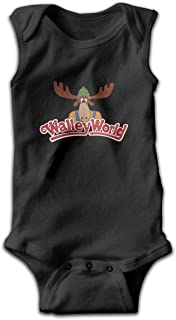 Wally World Smalls Baby Onesie,Infant Bodysuit Black