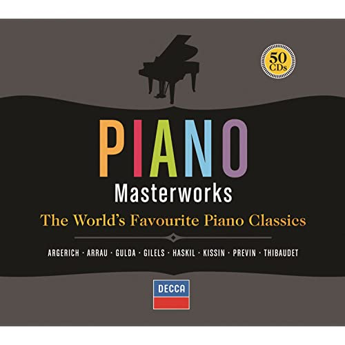 Piano Masterworks (50 CDs) by Various artists on Amazon