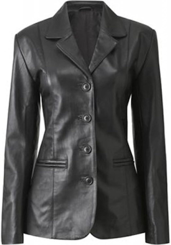 Fadcloset Haena Womens Leather Coat