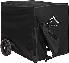 Himal Weather/UV Resistant Generator Cover 25 x 24 x 21 inch,for Universal Portable Generators 2200-5000 Watt, Black