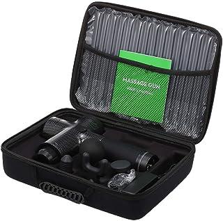 Scienish Electric Massage Gun Handheld Cordless Tissue Massager for Muscle Deep Relaxation 20 Speeds Percussion Massage De...