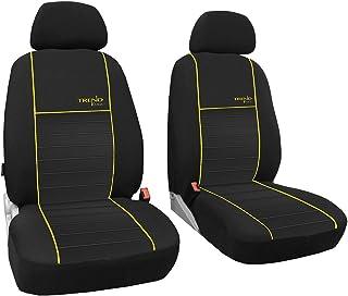 POK TER TUNING Vordersitzbezüge 1+1, Sitzbezüge Passend für Smart Modelle   Design Trend Line. in Diesem Angebot Gelb (in 6 Farben Bei Anderen Angeboten erhältlich)