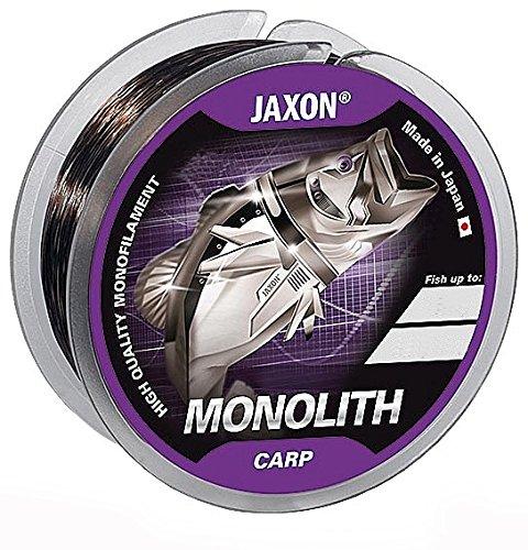Jaxon Monolith CARP 300m/600m Angelschnur Spule Monofile Karpfen Ø 0,25-0,35mm (300m/0,25mm/13kg)