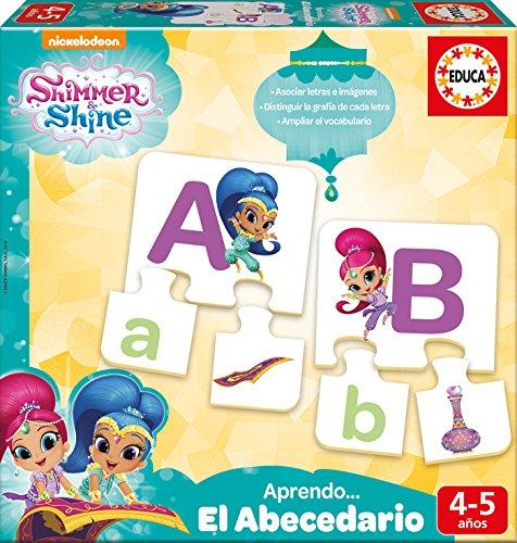 Educa Borrás Shimmer and Shine Aprendo El Abecedario (17710)