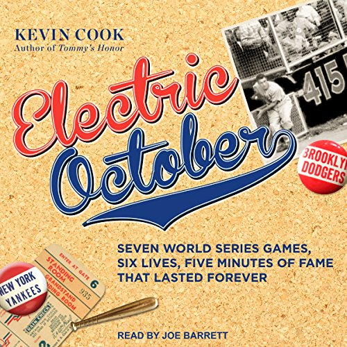 Electric October audiobook cover art