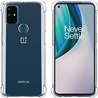 Foluu Case for OnePlus Nord N10 5G, OnePlus Nord N10 5G Case 2020 Clear, Scratch Resistant TPU Rubber Soft Skin Silicone P...