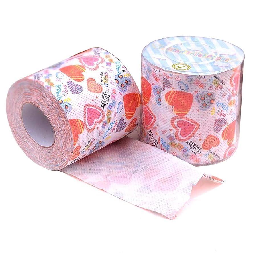 お誕生日肘哀れな2層トイレットペーパー、ティッシュペーパー、1ケースにつき24ロール、1ロールにつき300枚