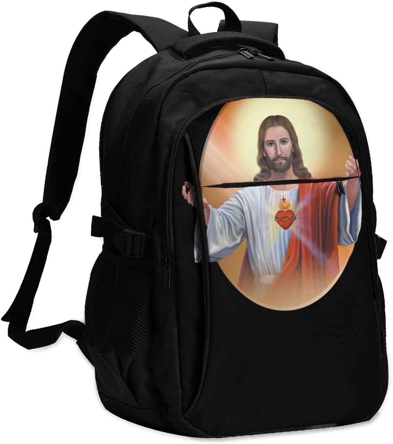 Sacred Baltimore Mall Heart Of Jesus Pictures Backpack School With Char Bag Usb Superlatite