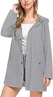 BBX Lephsnt Womens Lightweight Hooded Waterproof Active Outdoor Raincoat Jacket