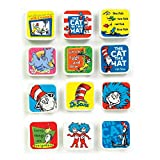 Geddes Dr. Seuss Character Erasers Set of 12