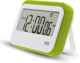 Digital Kitchen Timer , Alarm Clock ,Stopwatch,Large Digits,Loud Alarm, Mute Blinking Light and Magnetic Stand .Kitchen Ti...
