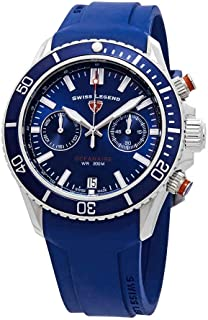 Oceanaire Chronograph Blue Dial Watch SL-13857SM-03-BLS-OA