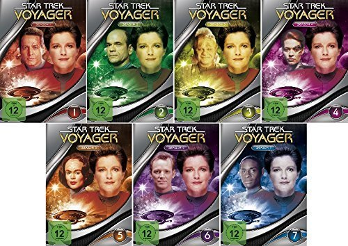 Star Trek - Voyager/Season-Box 1-7 im Set - Deutsche Originalware [47 DVDs]